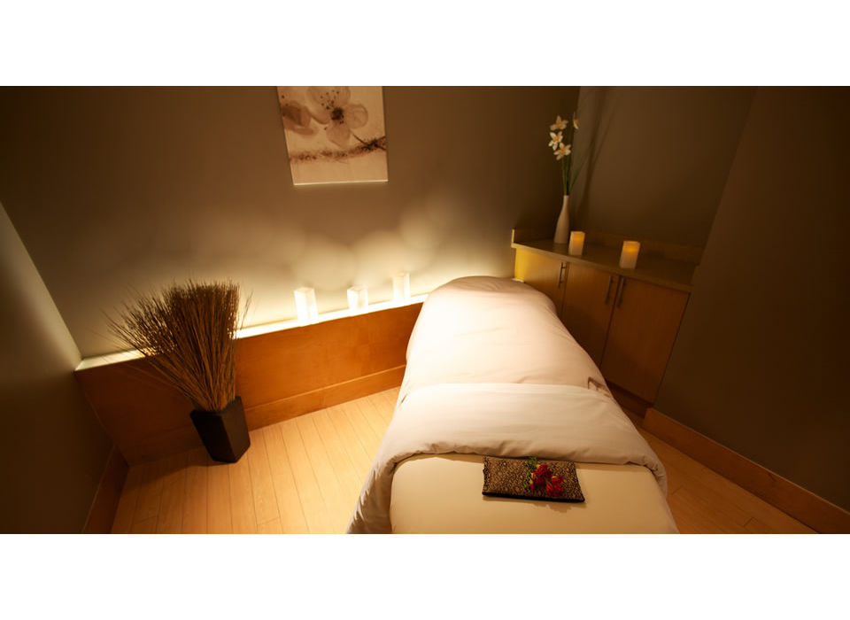 Facial massage and make up application at absolute spa for A salon vancouver