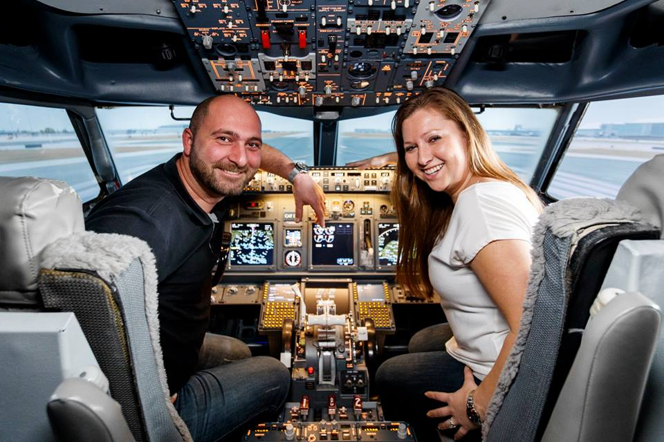 Fly a Jet Air Liner Simulator in the Greater Toronto Area!!
